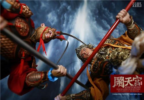 猴厂推出二郎神哮天犬套装 二郎神麾下 草头神 - 墨角&丫骨也公布官图 模玩 第11张