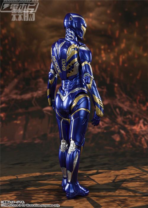 万代推出SHF《复仇者联盟:终局之战》小辣椒救援装甲 模玩 第2张