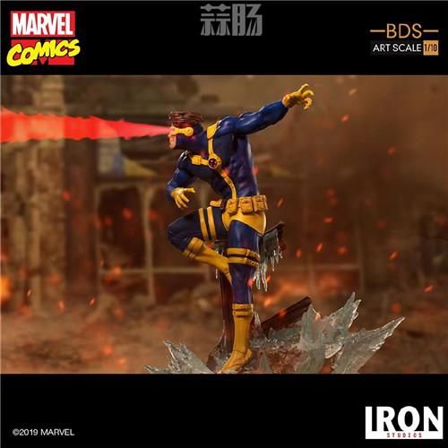 Iron Studios 公布漫画版《X战警》 1/10 镭射眼 模玩 第2张