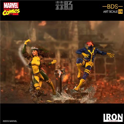 Iron Studios 公布漫画版《X战警》 1/10 镭射眼 模玩 第5张