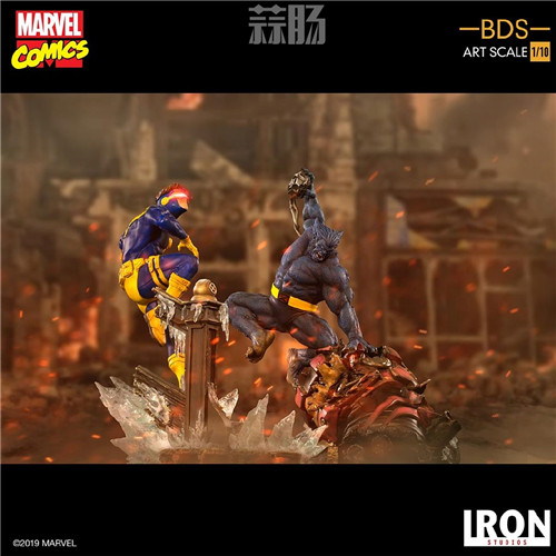 Iron Studios 公布漫画版《X战警》 1/10 镭射眼 模玩 第6张