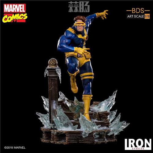 Iron Studios 公布漫画版《X战警》 1/10 镭射眼 模玩 第8张