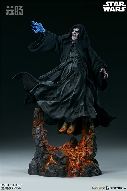 Sideshow 公布星战达斯·西迪厄斯雕像 模玩 第1张