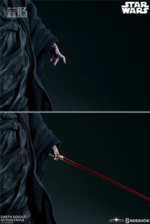 Sideshow 公布星战达斯·西迪厄斯雕像 模玩 第2张