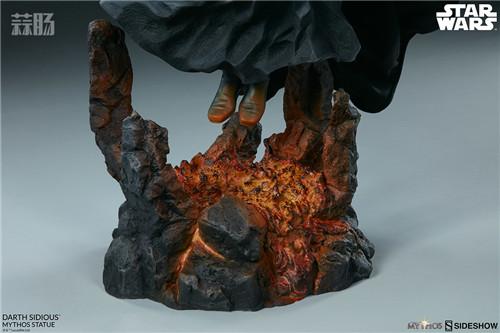 Sideshow 公布星战达斯·西迪厄斯雕像 模玩 第3张