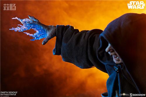 Sideshow 公布星战达斯·西迪厄斯雕像 模玩 第5张