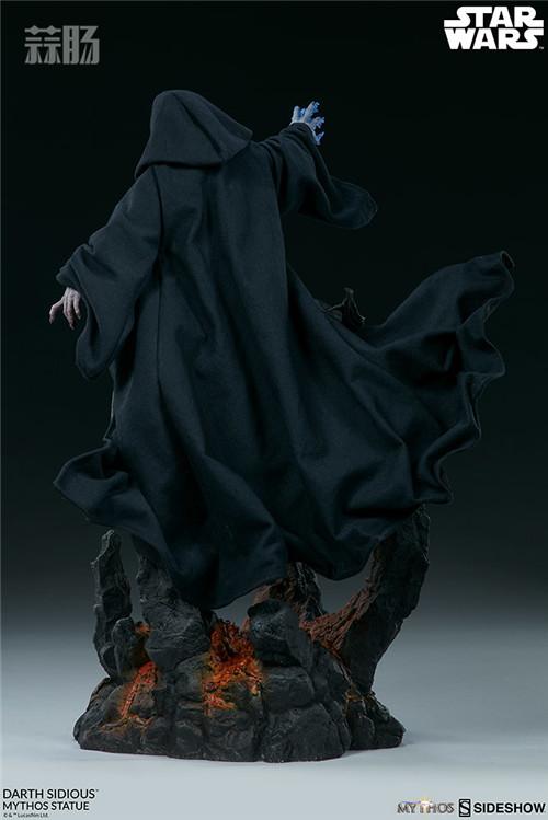 Sideshow 公布星战达斯·西迪厄斯雕像 模玩 第7张