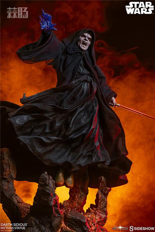 Sideshow 公布星战达斯·西迪厄斯雕像 模玩 第11张