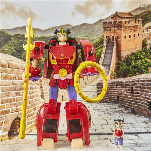 孩之宝公开《哪吒与变形金刚》哪吒小英雄玩具实物图 变形金刚 第1张