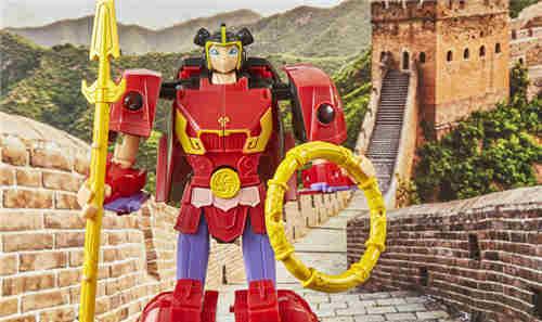 孩之宝公开《哪吒与幸运飞艇》哪吒小英雄玩具实物图