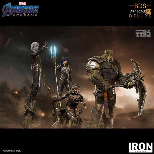Iron Studios《复仇者联盟:终局之战》灭霸等一众反派 模玩 第2张