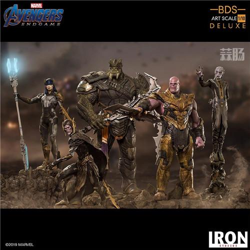 Iron Studios《复仇者联盟:终局之战》灭霸等一众反派 模玩 第1张