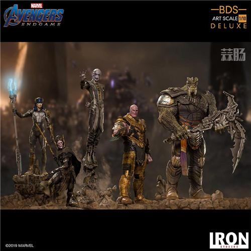 Iron Studios《复仇者联盟:终局之战》灭霸等一众反派 模玩 第4张