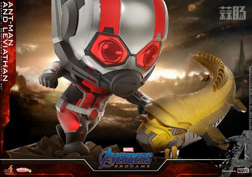 Hot Toys推出漫威《复仇者联盟4: 终局之战》蚁人及利维坦COSBABY (L)珍藏人偶套装 模玩 第2张
