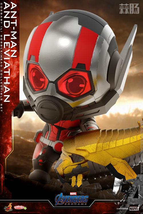 Hot Toys推出漫威《复仇者联盟4: 终局之战》蚁人及利维坦COSBABY (L)珍藏人偶套装 模玩 第3张