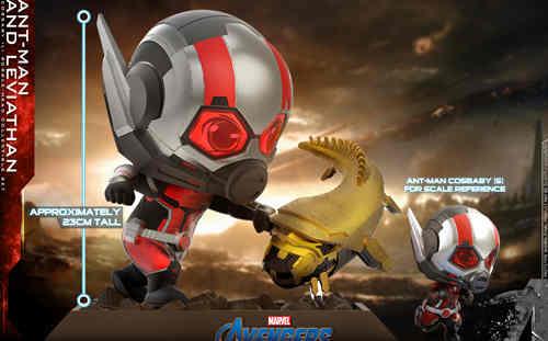 Hot Toys推出漫威《复仇者联盟4: 终局之战》蚁人及利维坦COSBABY (L)珍藏人偶套装