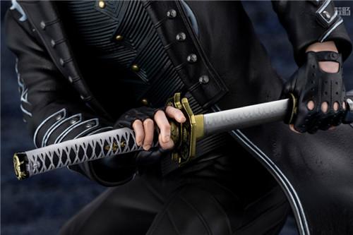 寿屋推出ARTFX J《鬼泣5》维吉尔1/8手办 眼神销魂 模玩 第9张