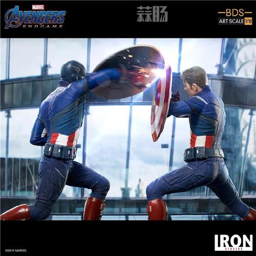 Iron Studios公布《复联4》1:10美队VS美队 模玩 第5张