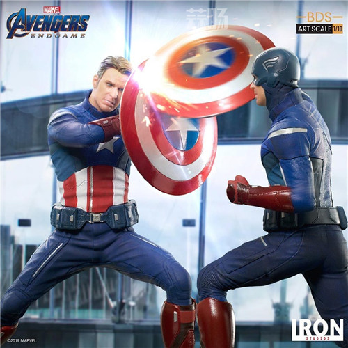 Iron Studios公布《复联4》1:10美队VS美队 模玩 第6张
