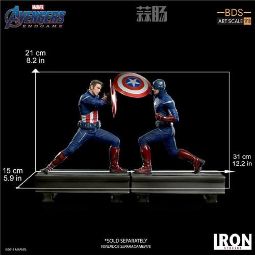 Iron Studios公布《复联4》1:10美队VS美队 模玩 第9张