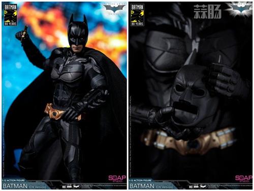 肥皂游发布1:12黑暗骑士蝙蝠侠  模玩 第3张