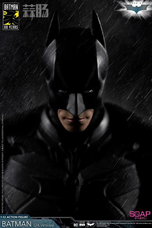 肥皂游发布1:12黑暗骑士蝙蝠侠  模玩 第2张