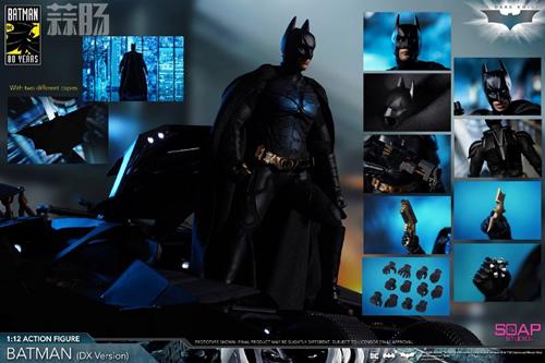 肥皂游发布1:12黑暗骑士蝙蝠侠  模玩 第7张