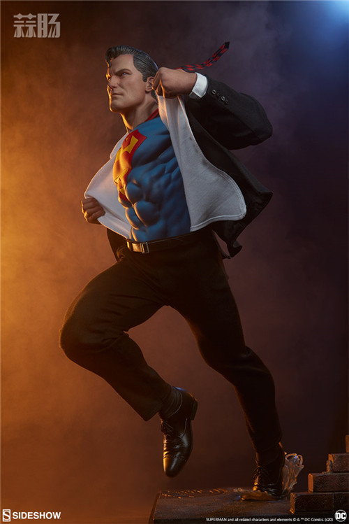 Sideshow公布漫画版超人克拉克雕像 超人 DC Sideshow 模玩  第5张