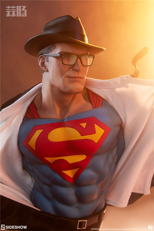 Sideshow公布漫画版超人克拉克雕像 超人 DC Sideshow 模玩  第2张