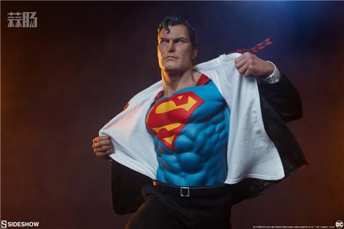 Sideshow公布漫画版超人克拉克雕像 超人 DC Sideshow 模玩  第6张