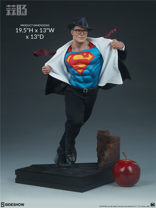 Sideshow公布漫画版超人克拉克雕像 超人 DC Sideshow 模玩  第7张