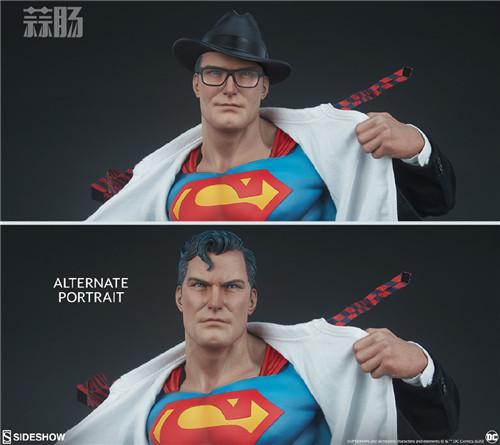 Sideshow公布漫画版超人克拉克雕像 超人 DC Sideshow 模玩  第9张