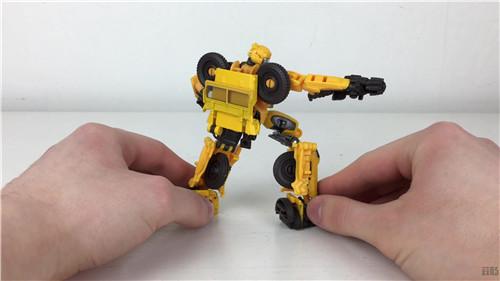 变形金刚工作室系列SS-57 D级越野大黄蜂实物图公开 变形金刚 第6张