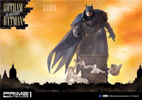 P1S发布1/5蝙蝠侠雕像 模玩 第1张
