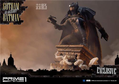 P1S发布1/5蝙蝠侠雕像 阿甘起源 DC 蝙蝠侠 P1S Prime 1 Studio 模玩  第2张
