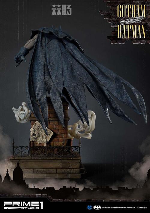 P1S发布1/5蝙蝠侠雕像 阿甘起源 DC 蝙蝠侠 P1S Prime 1 Studio 模玩  第3张