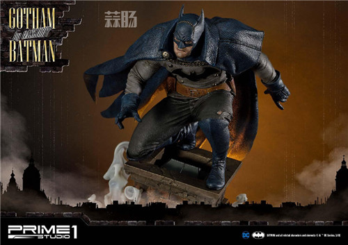 P1S发布1/5蝙蝠侠雕像 阿甘起源 DC 蝙蝠侠 P1S Prime 1 Studio 模玩  第5张