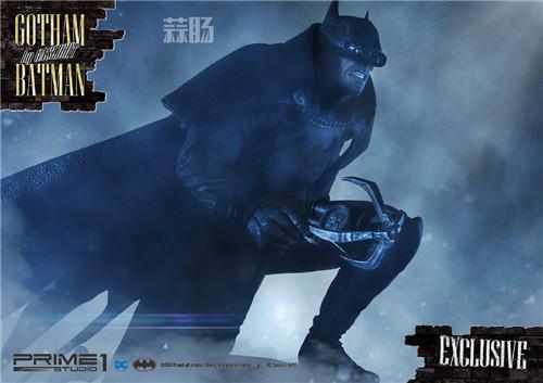P1S发布1/5蝙蝠侠雕像 阿甘起源 DC 蝙蝠侠 P1S Prime 1 Studio 模玩  第4张