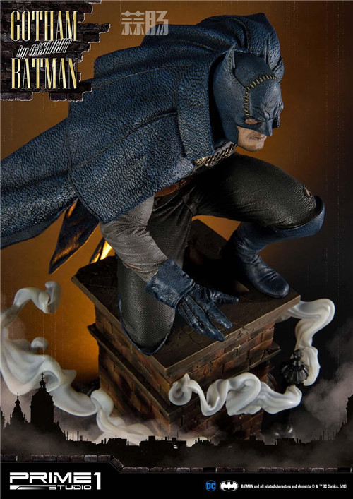 P1S发布1/5蝙蝠侠雕像 阿甘起源 DC 蝙蝠侠 P1S Prime 1 Studio 模玩  第6张