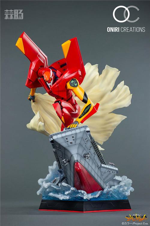 Oniri Creations《新世纪福音战士EVA》「二号机:初登场」雕像 二号机 新世纪福音战士 模玩  第3张