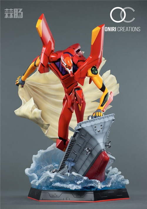 Oniri Creations《新世纪福音战士EVA》「二号机:初登场」雕像 二号机 新世纪福音战士 模玩  第2张