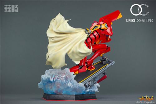 Oniri Creations《新世纪福音战士EVA》「二号机:初登场」雕像 二号机 新世纪福音战士 模玩  第5张
