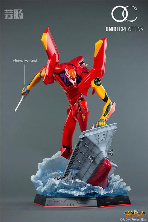 Oniri Creations《新世纪福音战士EVA》「二号机:初登场」雕像 二号机 新世纪福音战士 模玩  第8张