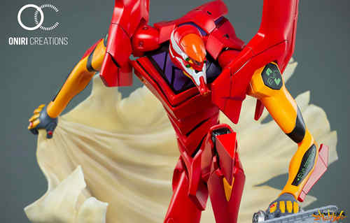 Oniri Creations《新世纪福音战士EVA》「二号机:初登场」雕像