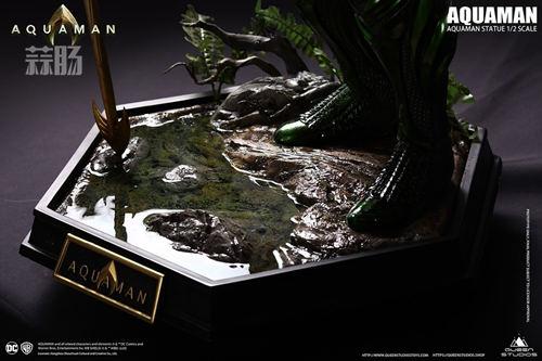 Queen 发布海王1:2雕像 价格超1万6? DC 水行侠 海王 Queen 模玩  第9张