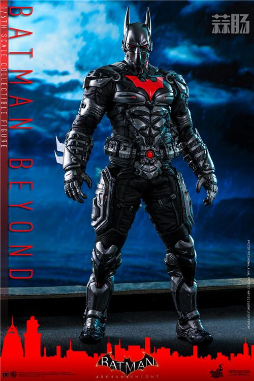 Hot Toys推出《蝙蝠侠:阿卡姆骑士》未来蝙蝠侠1:6比例人偶 模玩 第1张