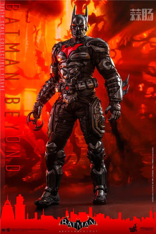 Hot Toys推出《蝙蝠侠:阿卡姆骑士》未来蝙蝠侠1:6比例人偶 模玩 第3张