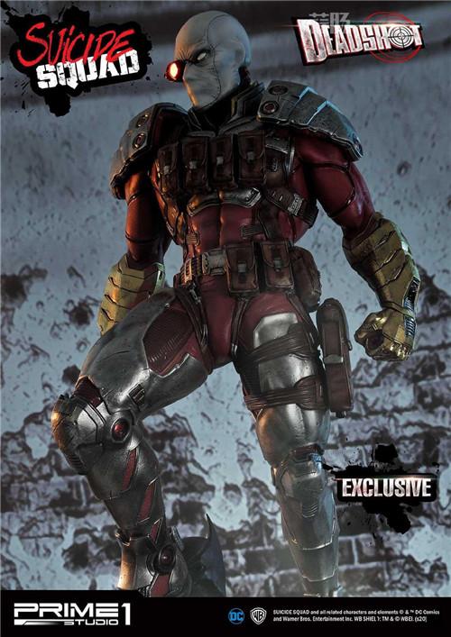P1S发布《自杀小队》 1/3死射 雕像 死射 自杀小队 P1S Prime 1 Studio 模玩  第4张