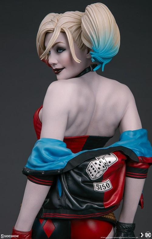 Sideshow 公布DC漫画版小丑女——哈莉奎茵 模玩 第5张