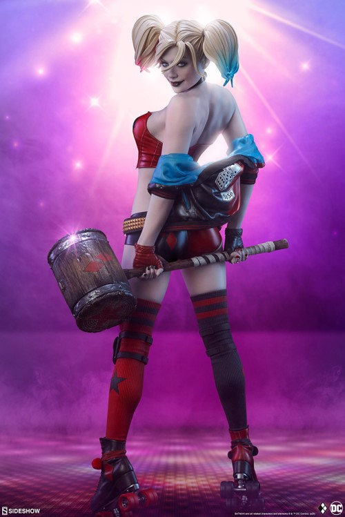 Sideshow 公布DC漫画版小丑女——哈莉奎茵 模玩 第1张
